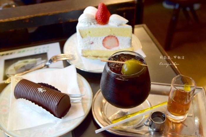 【淺草美食】Angelus 昭和懷舊珈琲店 梅酒咖啡、巧克力蛋糕捲,熱銷70年人氣組合