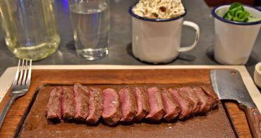 【英國美食】Flat Iron Steak 平價高cp值倫敦牛排館推薦!只要11磅還附沙拉、爆米花