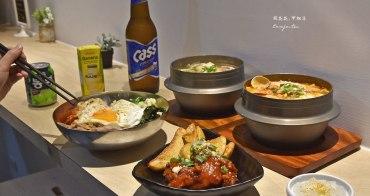 【捷運古亭站美食】Korea Fast韓式料理 平價豆腐鍋、泡菜鍋、石鍋拌飯、炸雞煎餅