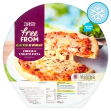 Tesco Free From Cheese and Tomato Pizza