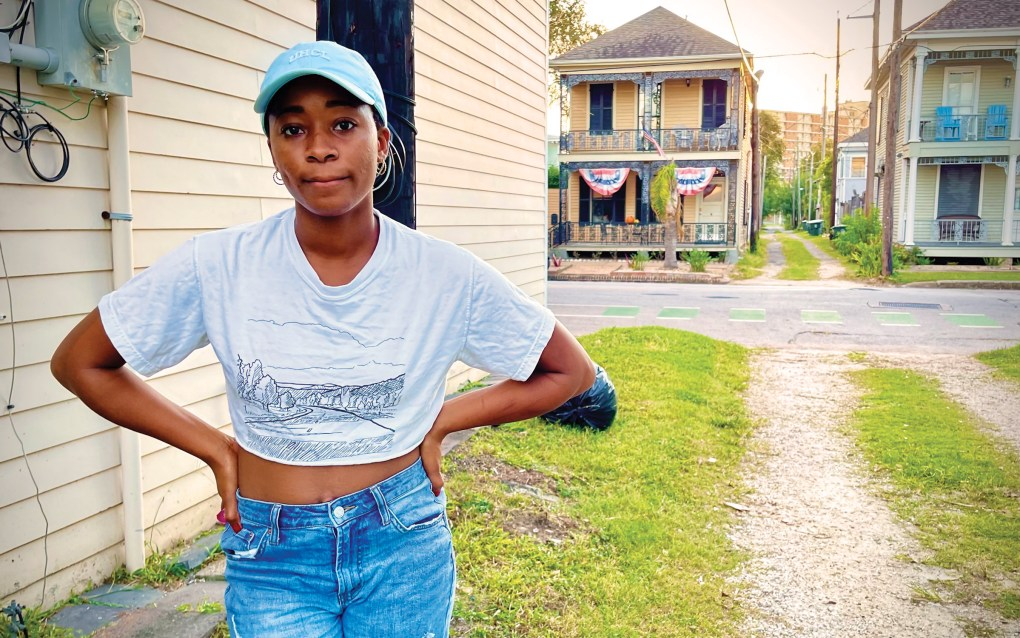 Torrina Harris, a Galveston poet and young professional in Galveston.