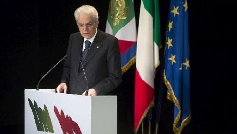"""Mattarella: """"La Resistenza è la base dei valori della nostra democrazia"""""""