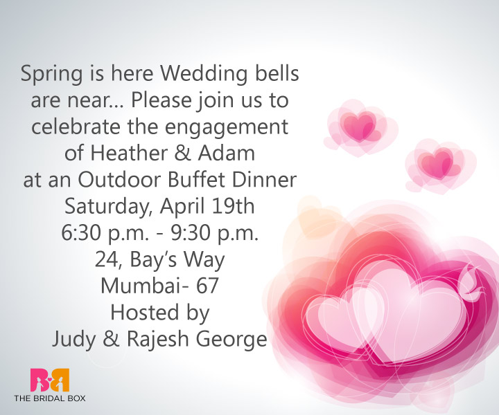 View Images Must Have Indian Enement Invitation Wording Ideas