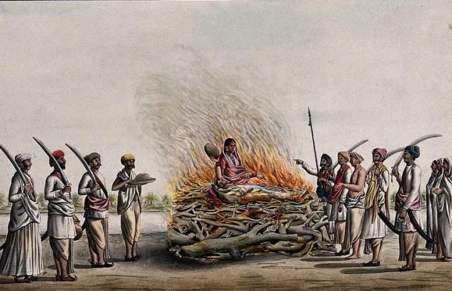 Custom of Sati