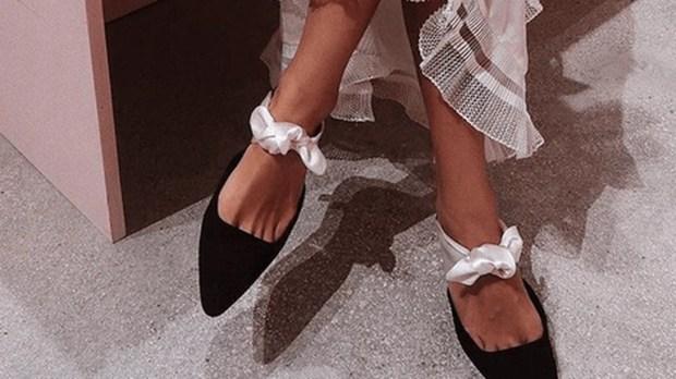 ballet flat shoes street style-ის სურათის შედეგი