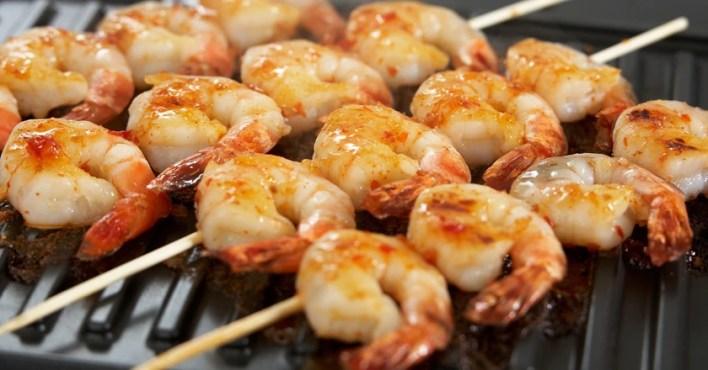 Image result for shrimp on the barbie
