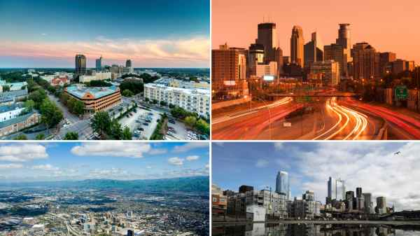America's Thriving Cities, From Seattle to Boston (photos)