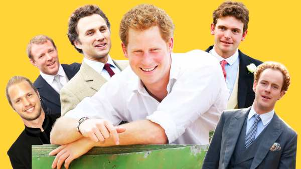 Prince Harry's Wild, Partying Pals—And How They Were Tamed