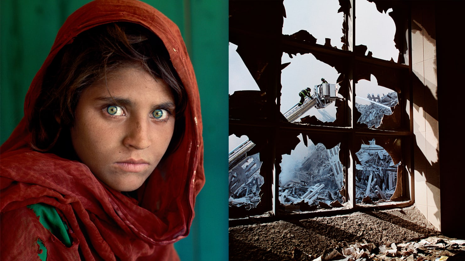 From Afghan Girl To Ground Zero The World Through Steve