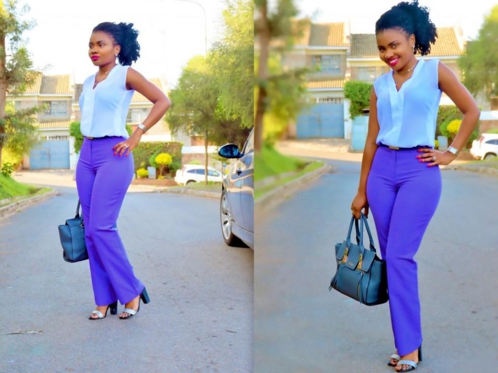 Kenyan style blog, high waist pants and higher standards