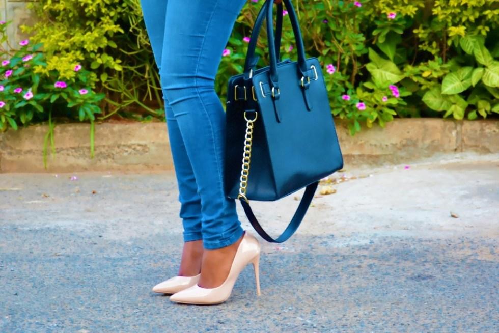 the elegant lane how to wear nude heels