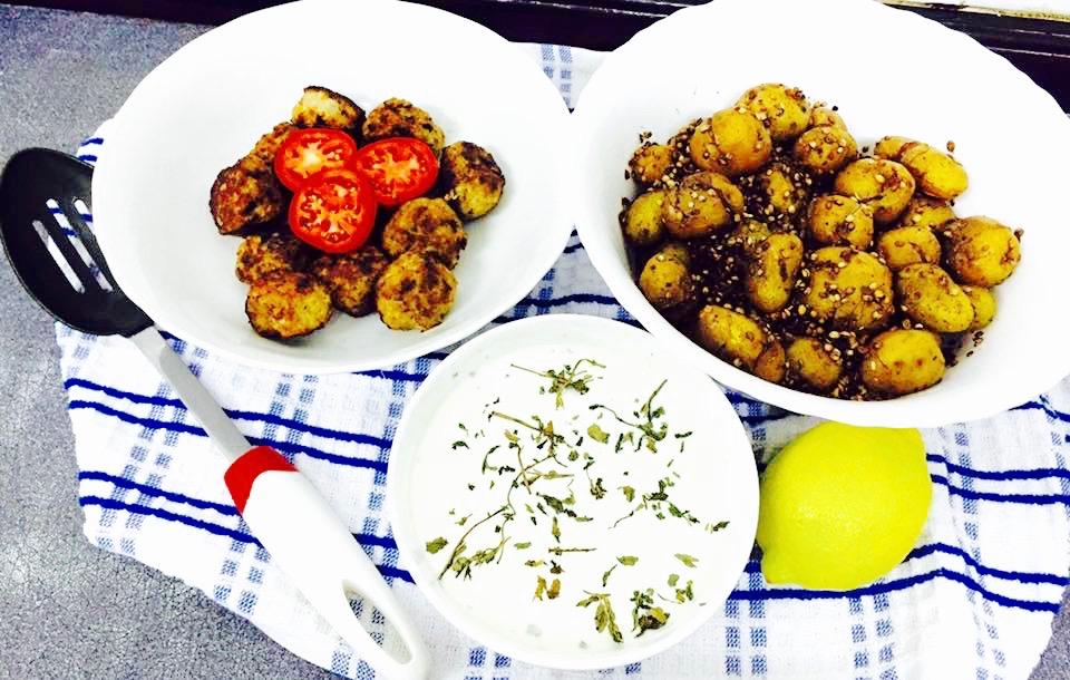 tossed baby potatoes recipe
