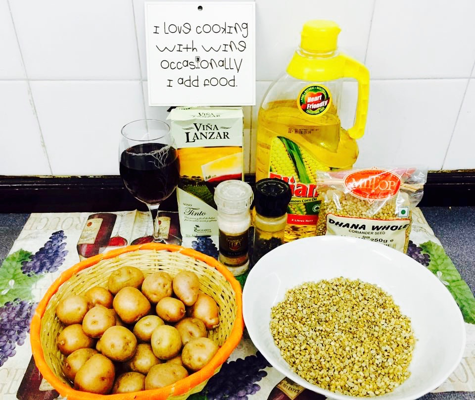 tossed baby potatoes ingredients