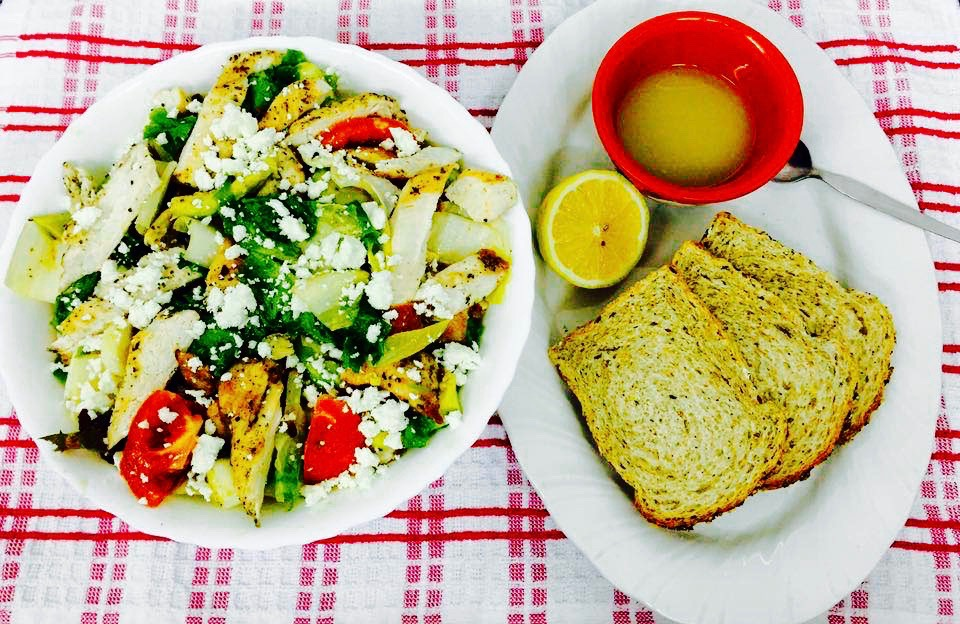 grilled chicken vinaigrette salad recipe