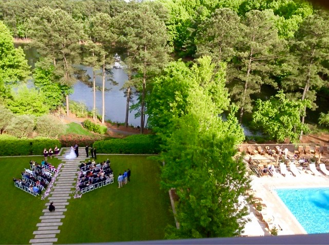 Room View the Umstead Hotel and Spa, North Carolina :) I was so lucky to capture this moment :)