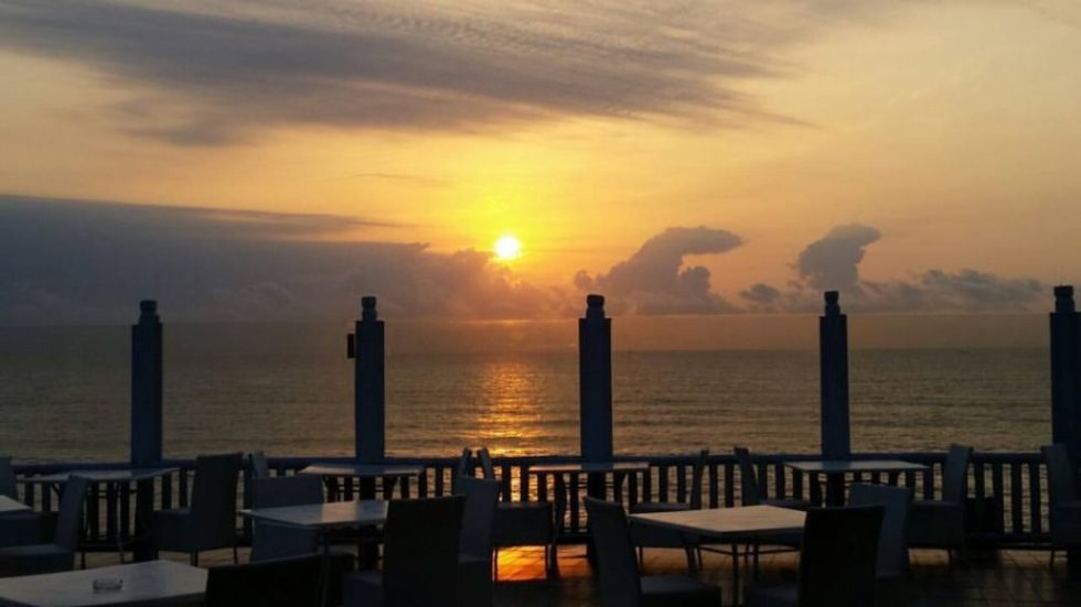 Sunrise at Sea Cliff Hotel, Dar-es Salaam