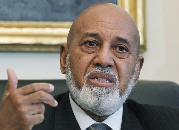 In this May 19, 2010, photo US Rep. Alcee Hastings, D-Fla., speaks on Capitol Hill in Washington. As a federal judge, Hastings was acquitted in a jury trial on bribery charges but impeached by the US Senate in 1989 on related allegations. He was not barred from holding public office in the future. In 1992, Hastings was elected to the US House of Representatives to represent a Florida district. He is currently serving his 11th term. (AP Photo/Manuel Balce Ceneta)