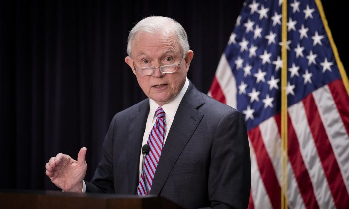 Former Attorney General Jeff Sessions Announces Run for Alabama Senate Seat