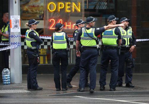 Police in Melbourne terror attack