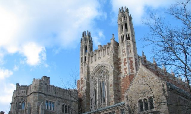 The Sterling Law Building of the Yale Law School on Feb. 7, 2007.   (Public Domain)