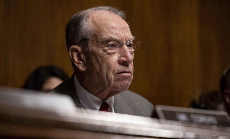 Sen. Chuck Grassley (R-Iowa) on Capitol Hill