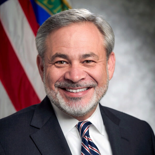 Dan Brouillette, the Deputy Secretary of the U.S. Department of Energy is seen in an undated Department of Energy official portrait and handout photo obtained in Washington