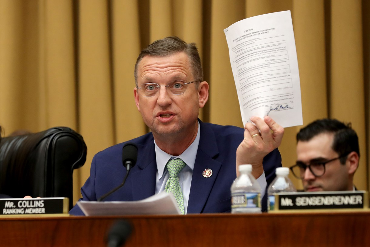 Judiciary Committee ranking member Rep. Doug Collins