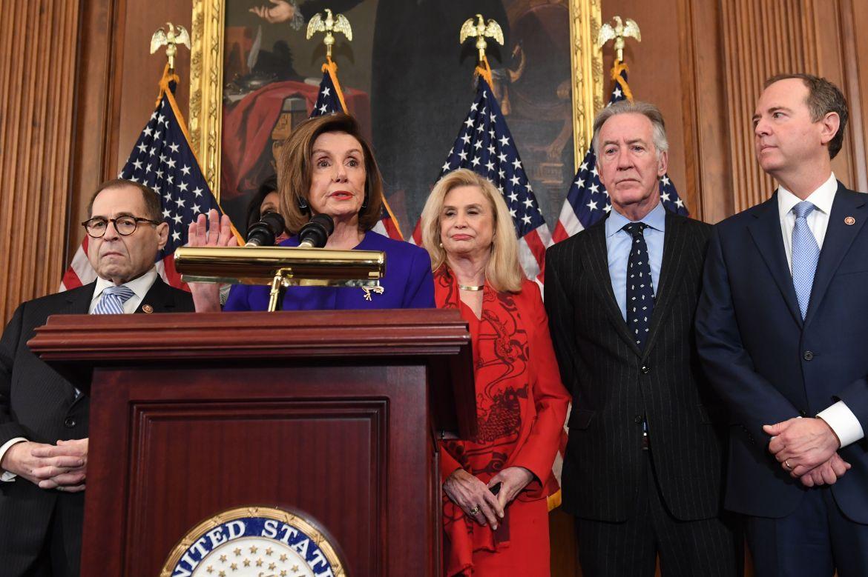 Nancy Pelosi and Democrats