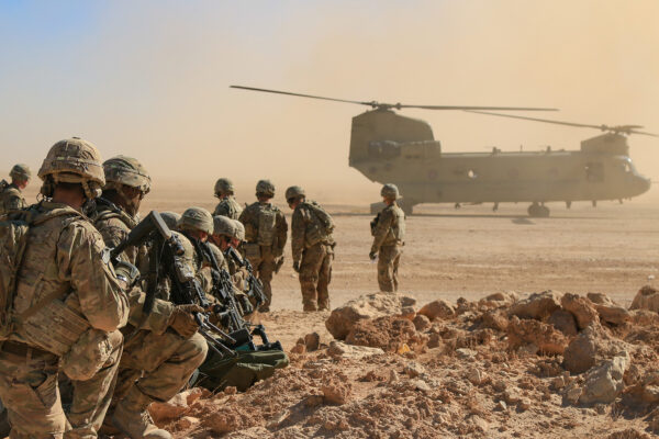 Aerial Response Force Live-Fire Exercise
