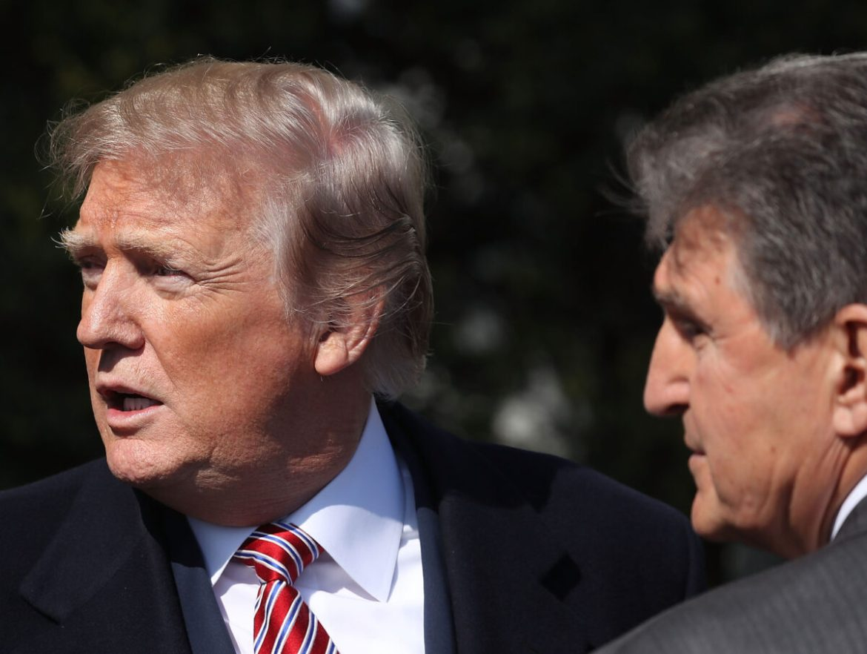 trump and manchin