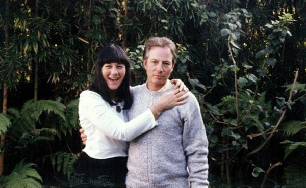 Susan Berman (L) and Robert Durst