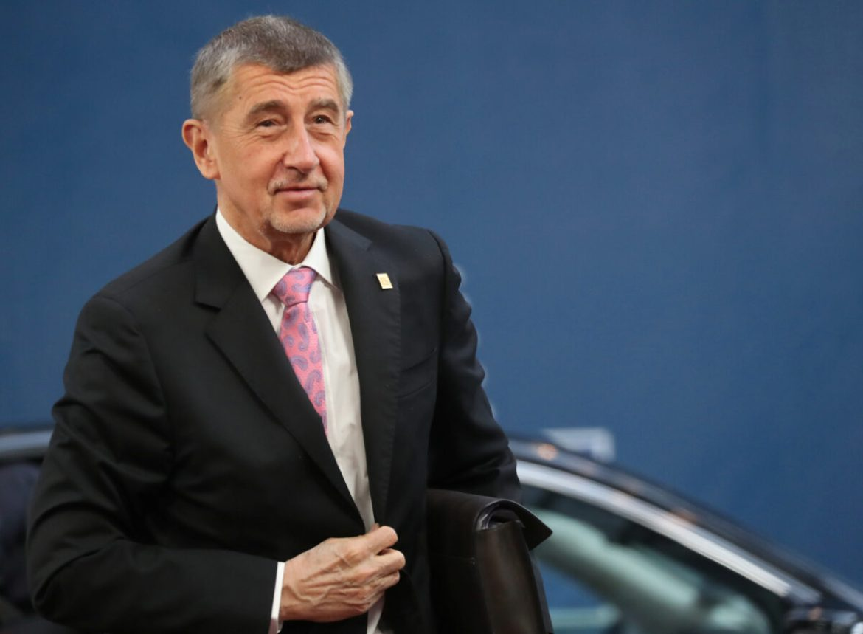 Czech Republic's Prime Minister Andrej Babis