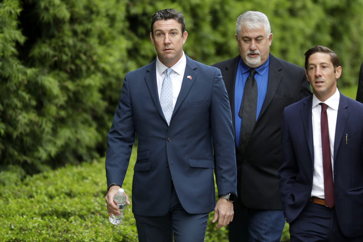 Convicted ex-Rep. Duncan Hunter