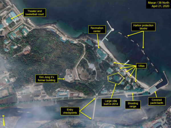 What is described by Washington-based North Korea monitoring project 38 North