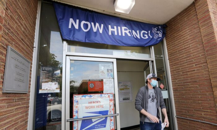 Hiring Soared in May as Mass Layoffs Eased