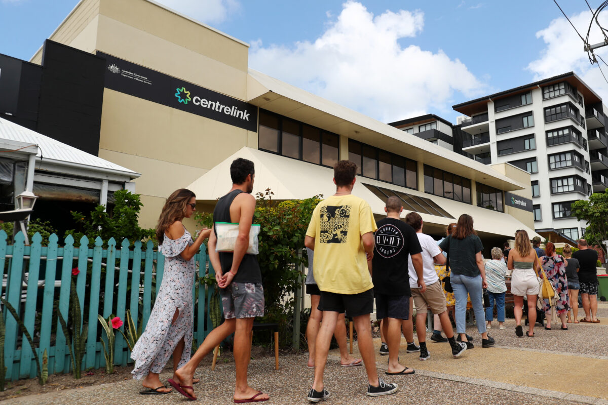 Australians React As Tough Restrictions Are Announced In Response To Coronavirus Pandemic