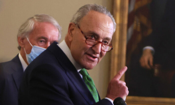 Schumer Praises Trump's Middle East Peace Deal as 'Welcome News'