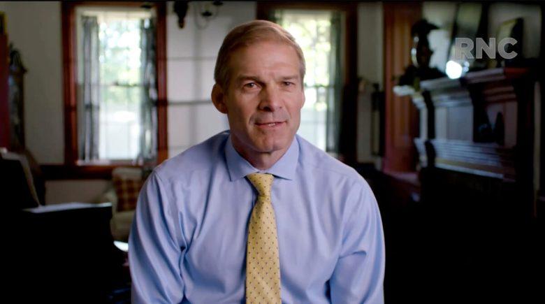 U.S. Rep. Jim Jordan addresses the virtual convention