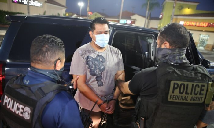 ICE Arrests More Than 170 Illegal Aliens At-Large in Sanctuary City Crackdown