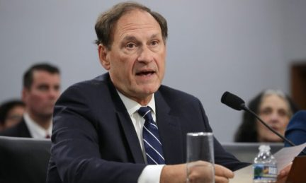 Supreme Court Associate Justice Samuel Alito testifies in Washington on March 7, 2019. (Chip Somodevilla/Getty Images)