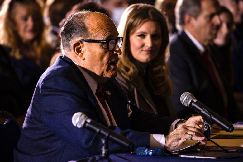 President Donald Trump's lawyer Rudy Giuliani