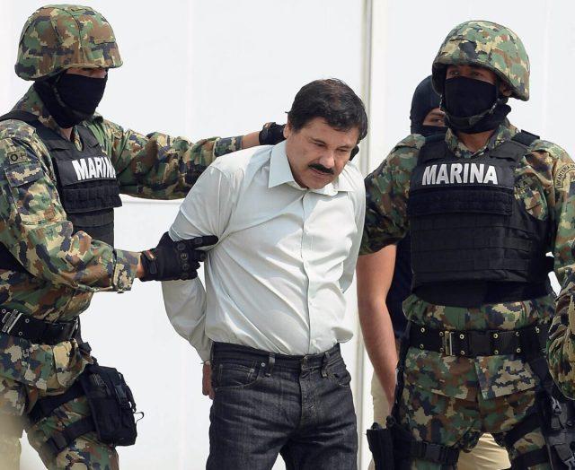 """Mexican drug dealer """"el Chapo Guzman"""""""