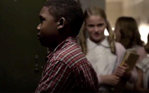 black boy in school