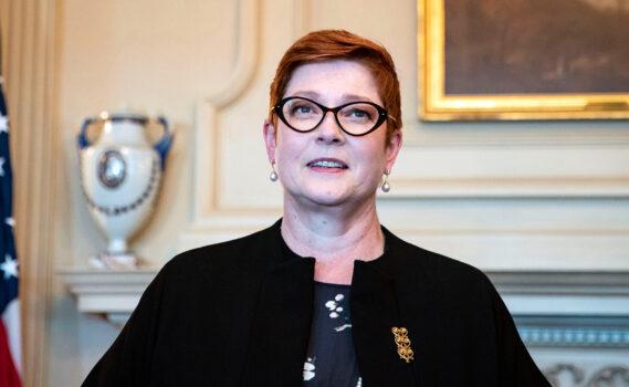 Australian Foreign Minister Mary Spean
