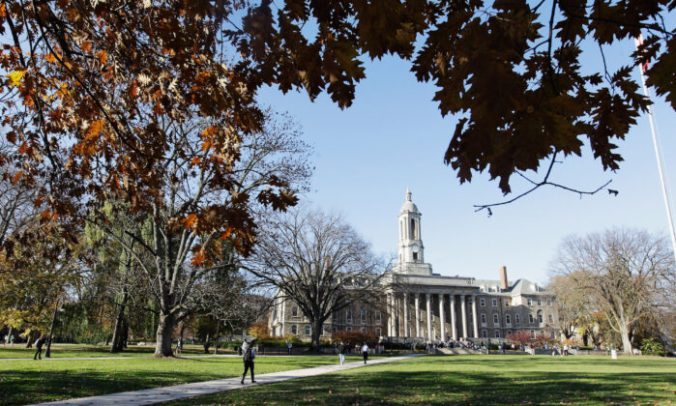 Penn State University campus in University Park, Pa., This file photo taken in 2011 shows. (Rob Carr/Getty Images)
