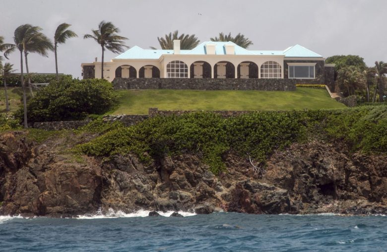 epstein island raided