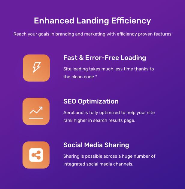 AeroLand - Responsive App Landing and Website WordPress Theme - 15