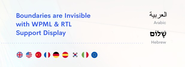 RTL support, multilingual site