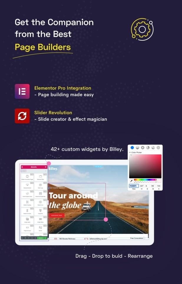 Billey - Creative Multipurpose WordPress Theme - 10