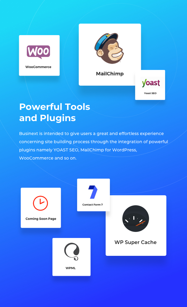 Business Financial Institution WordPress Theme - Powerful Compatibility
